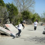 Skateparks can be built to appeal only to skaters. Photo: University of Texas
