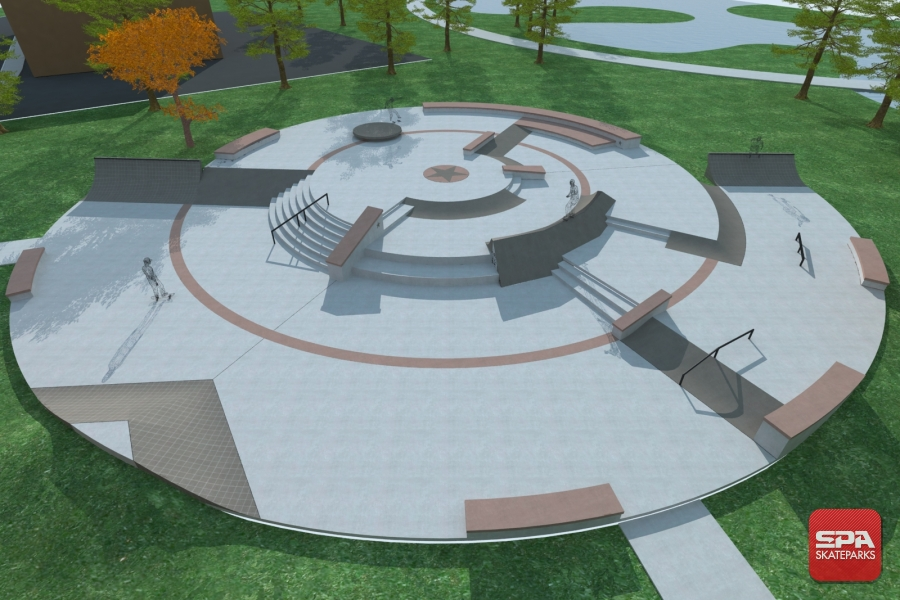 Concept designs for fundraising public skatepark development guide circular carlsbad ca circular beaumont malvernweather