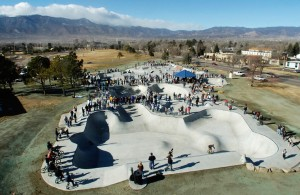 Massive crowds are not the norm for skateparks, but most non-skaters don't realize that. Image courtesy: TeamPain