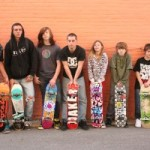 Portage, Wisconsin skaters are looking for a place for their community to gather. Photo: wiscnews.com