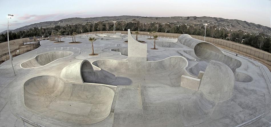 Lake Cunningham Regional Skatepark, San Jose, CA. Image courtesy: California Skateparks