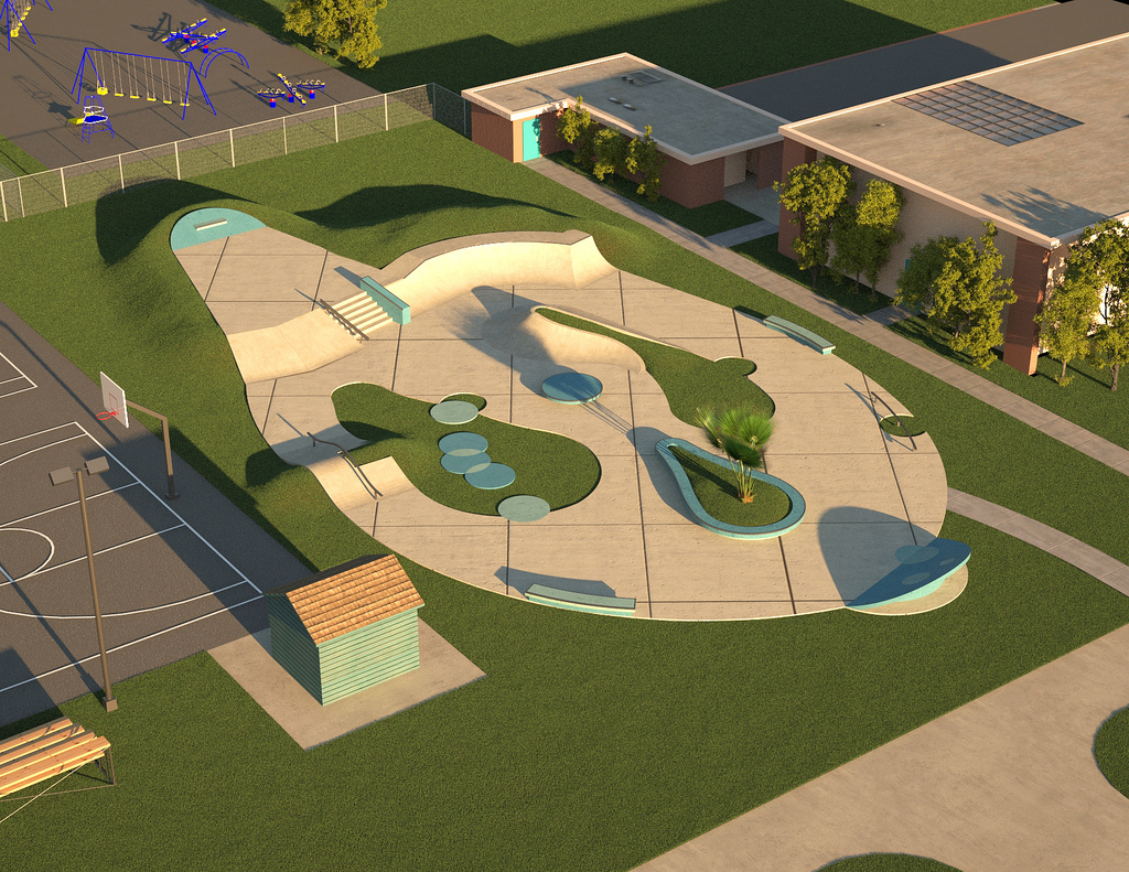 Concept designs for fundraising public skatepark development guide signature bubbles malvernweather