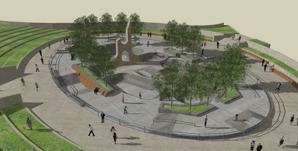 Concept designs for fundraising public skatepark development guide bostoncambridge signature hod hasaron malvernweather