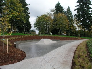 Tenney Creek Skate Spot in Vancouver, WA.  Image courtesy SkateOregon.com