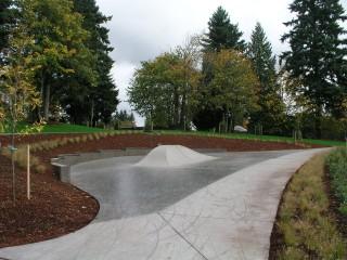Tenney Creek Skate Spot in Vancouver, WA.  Image courtesy SkateOregon.com