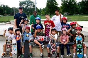 Typical skateboarding students in Lakewood, OH. Image courtesy: Public Square Group
