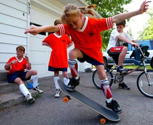 Public perception of skateboarders is often shaped by the most negative impressions. The reasonable truth is that most skateboarders are just ordinary kids.